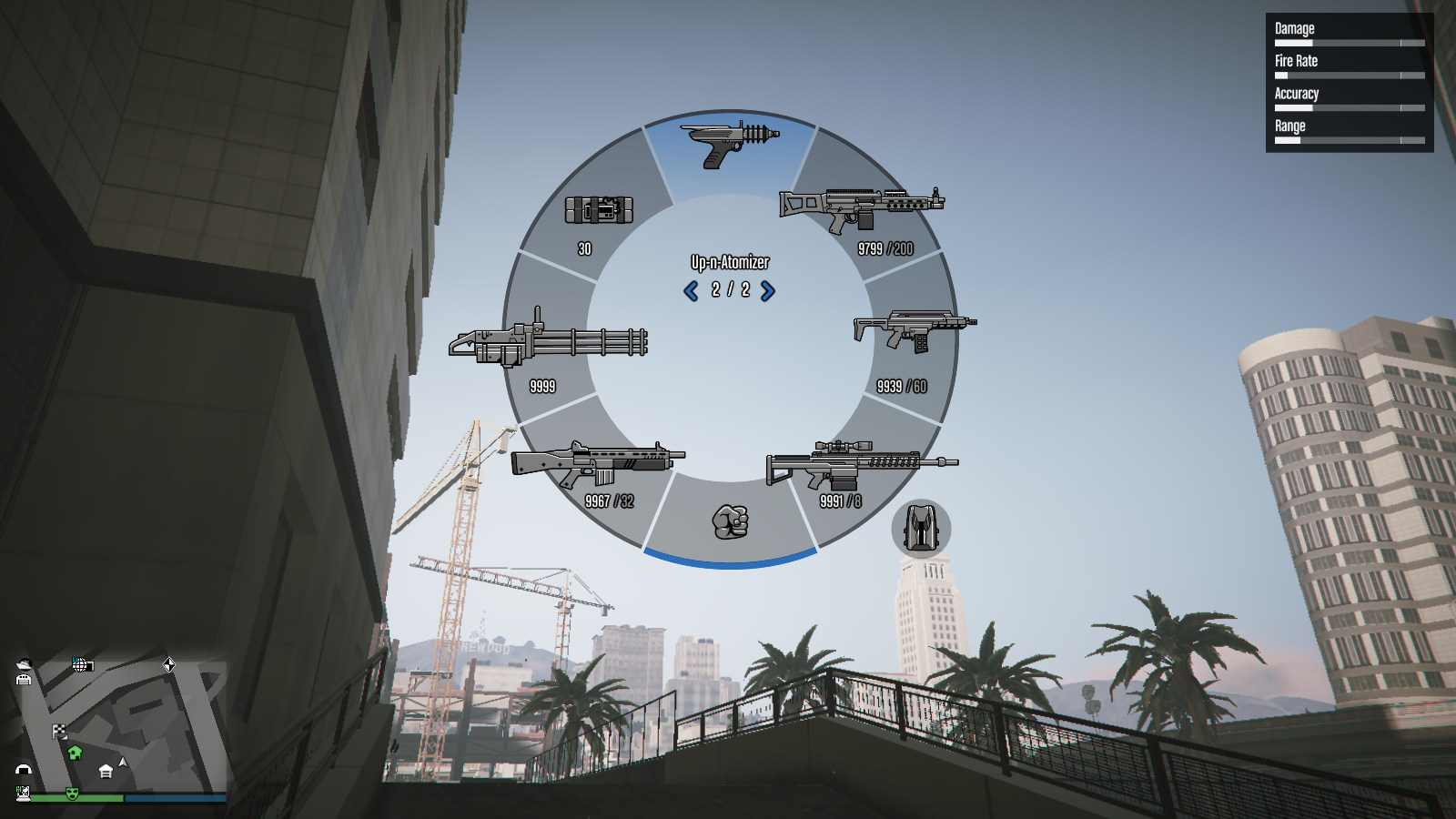 Up-n-Atomizer in Weapon Wheel